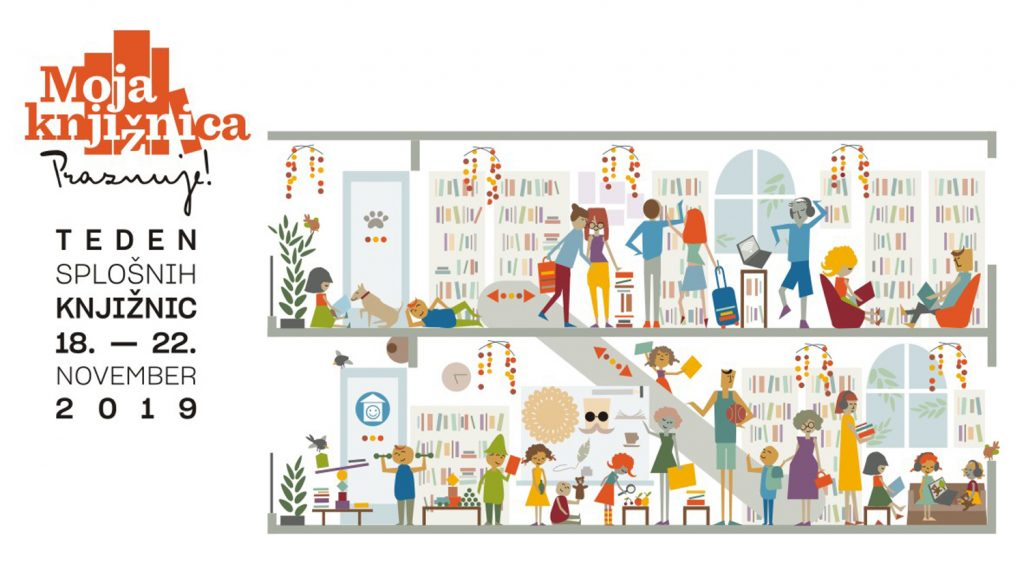 Infografika Moja knižnica praznuje 2019