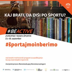 Športajmo in berimo - #športajmoinberimo