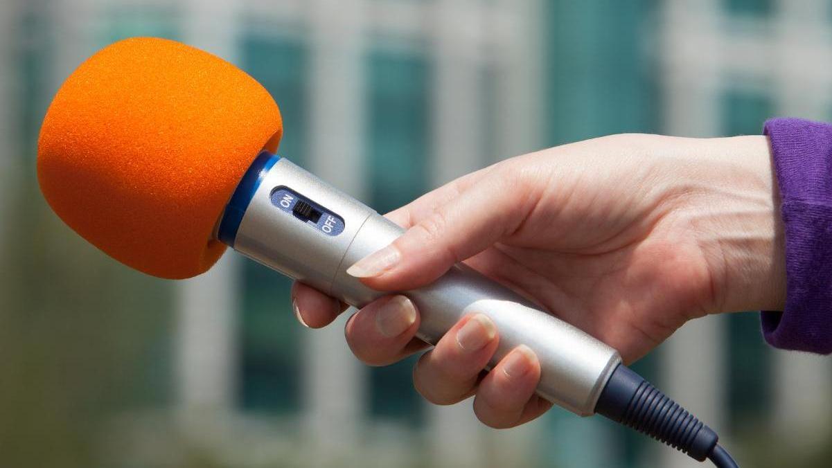 Mikrofon, simbolna slika