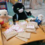 Pripravljeno gradivo v času epidemije, paketi naročenih knjig za otroke, Nova Gorica