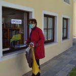 Brezstični prevzem gradiva med epidemijo COVID-19, Ptuj